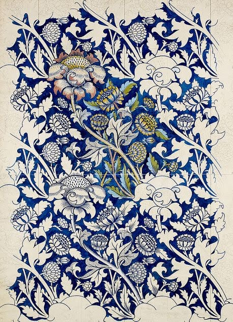 William Morris schizzi 3