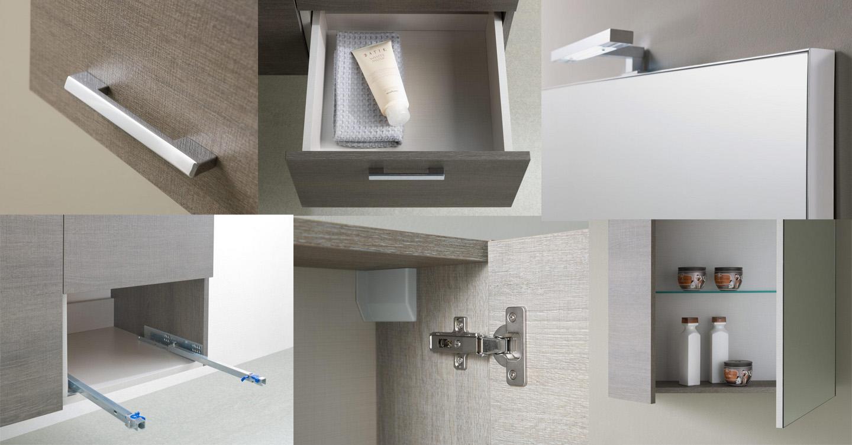 accessori mobile bagno