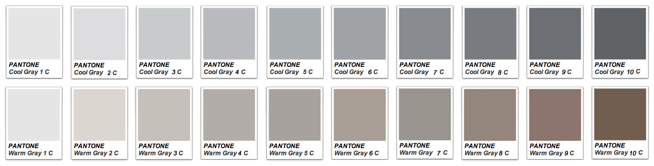 pantone-grey cool warm
