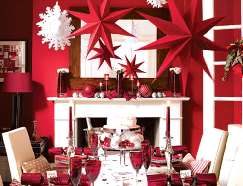 Red Christmas…I love red & white