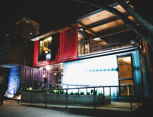 IL Container Bar, un esempio di architettura rivoluzionaria, mobile e creativa